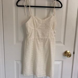 Aeropostale cream dress
